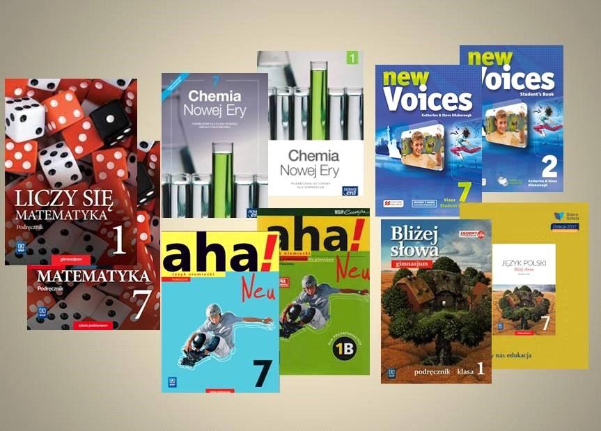 Podręczniki, nowa podstawa programowa