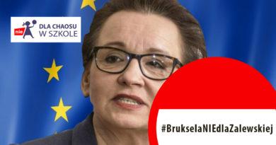 Bruksela NIEdla Zalewskiej