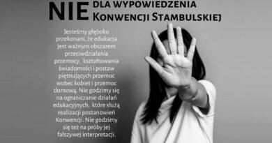 NIEdla wypowiedzenia Konwencji Stambulskiej!